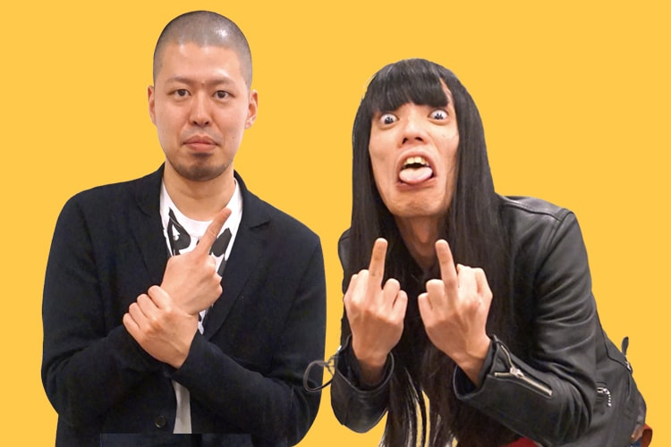 左:小林 圭輔(ボケ担当) 右:友保 隼平(ツッコミ担当)