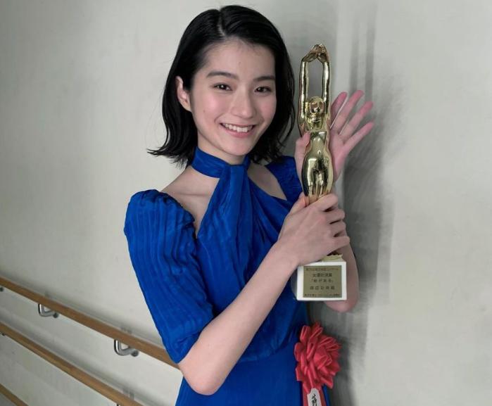 第75回毎日映画コンクール授賞式(2021.2.17) 蒔田彩珠