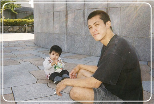 堀米雄斗と父親
